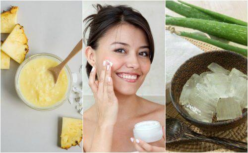 五種自然療法來緊緻您的臉部肌膚