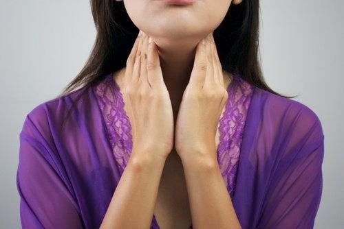甲狀腺的位置