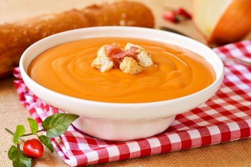 可降低結腸癌風險的美味番茄冷湯
