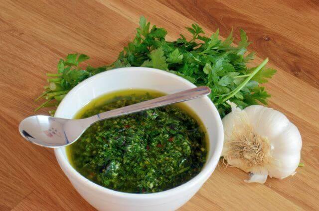 自製阿根廷青醬-Chimichurri