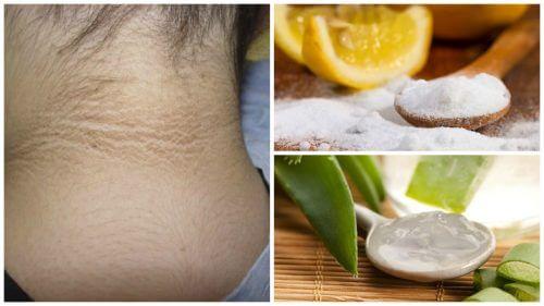 五種淡化頸部暗沉的肌膚照護配方