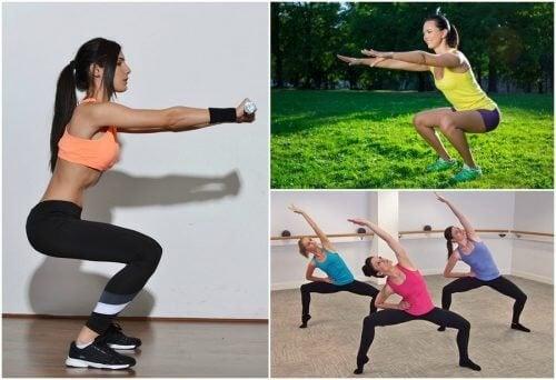 六種深蹲練習,在家也能鍛鍊腿部喔!