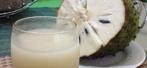 刺果番荔枝汁