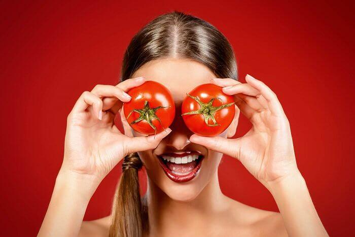 用蕃茄和優格自製去角質劑
