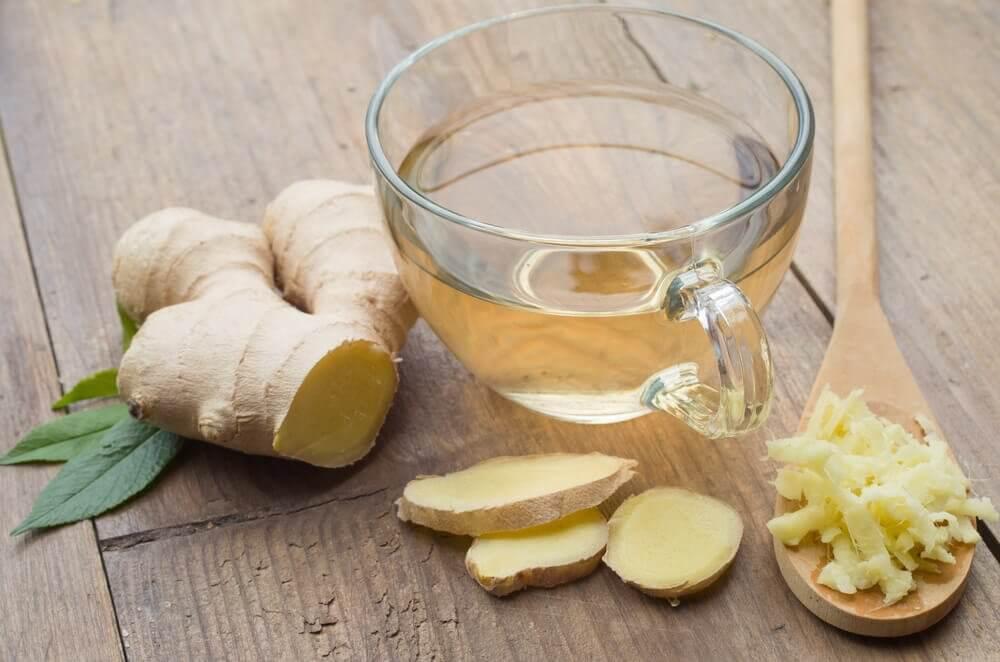 自製對抗病毒和感冒的薑茶