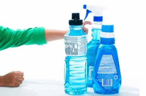 寶特瓶清潔