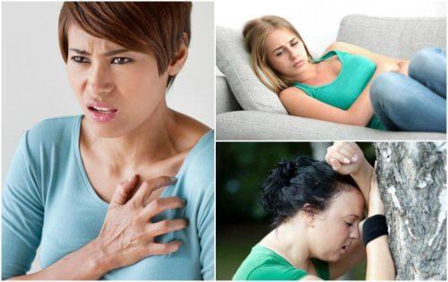 八種不可輕忽的心臟病徵兆
