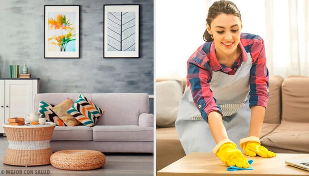 維持家中整潔的五個習慣