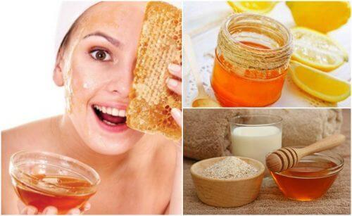 五種減少皺紋的蜂蜜面膜