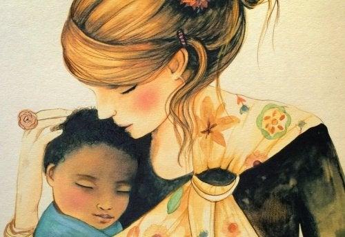 孩子們需要我們的擁抱成為世界的一部分