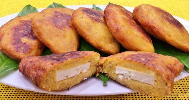 烤大蕉的四種美味餡料