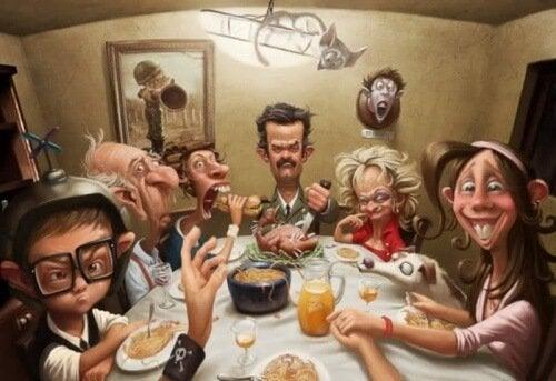 吵鬧的家庭