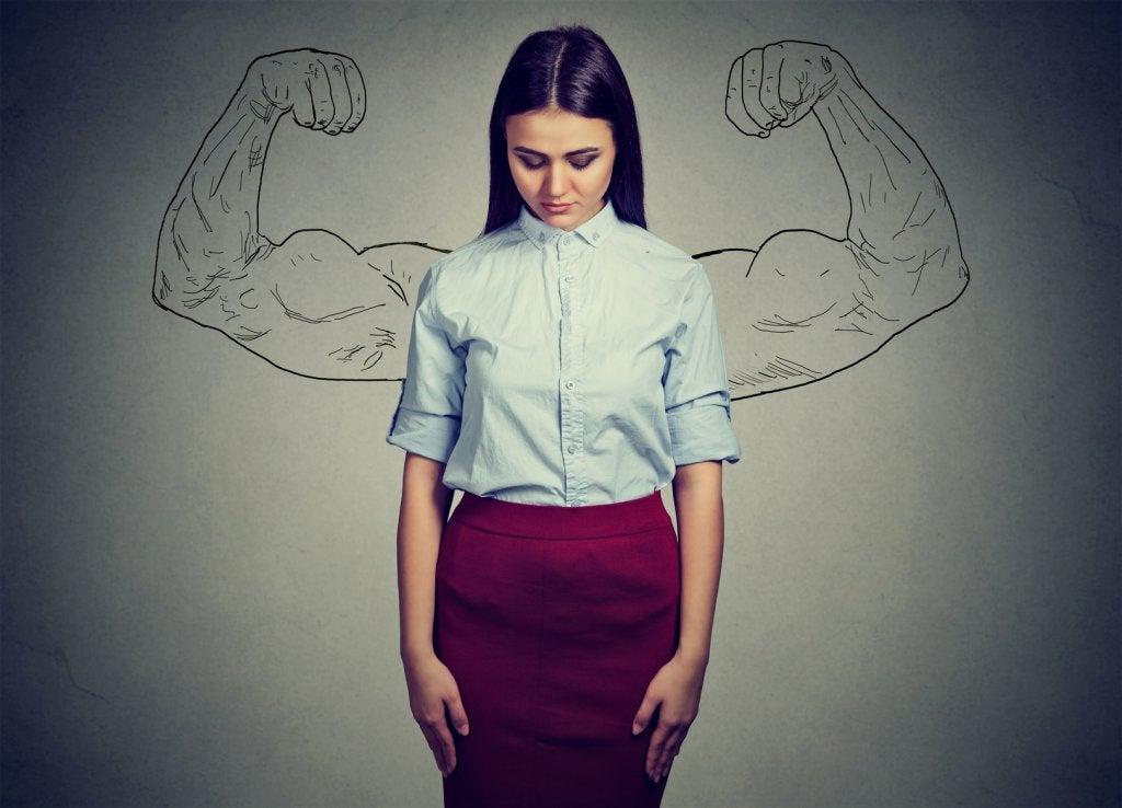 強韌的女性