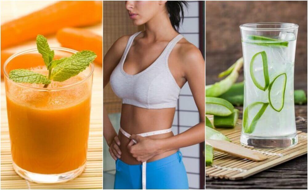 有助於瘦肚子的5種果汁