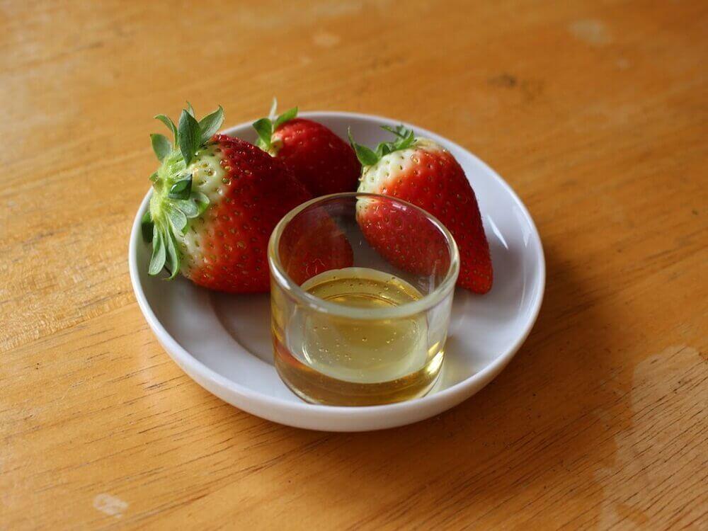 橄欖油與草莓療法