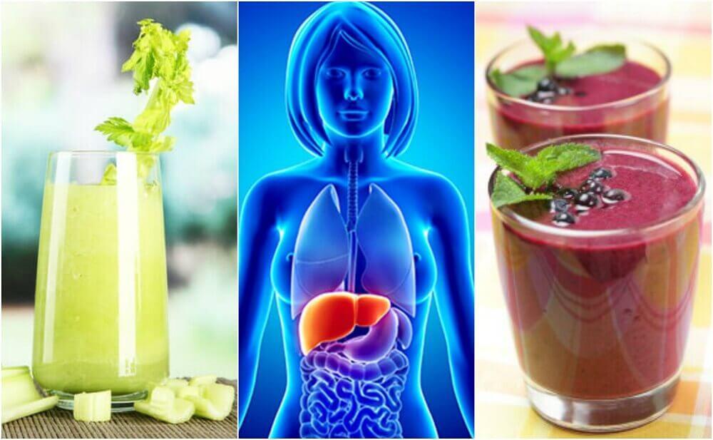 用這4種蔬果昔淨化你的肝臟
