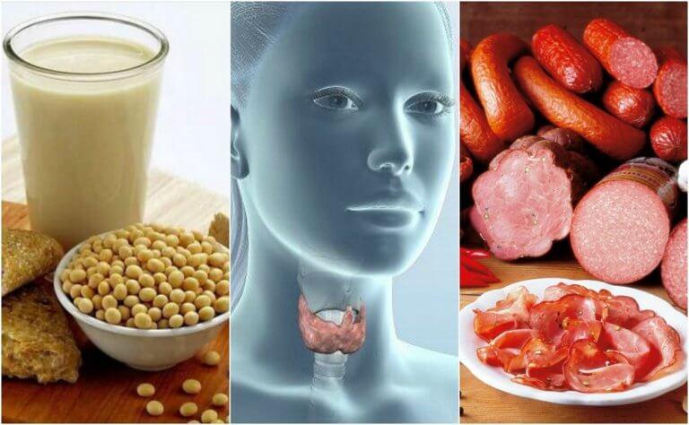 罹患甲狀腺機能低下症要避免的7種食物