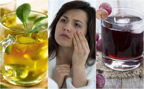 試試看用這5種健康飲品治療貧血