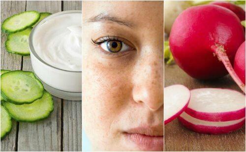 如何用這五種自然療法減少臉上的斑