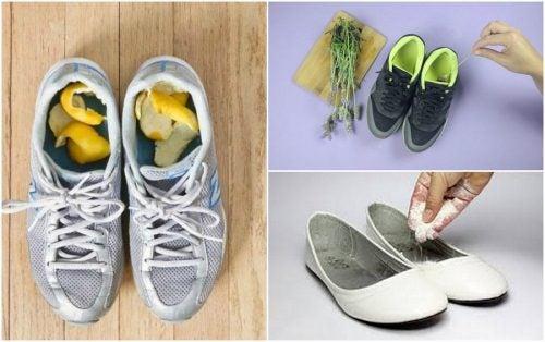 如何用這5款居家配方避免鞋子臭烘烘