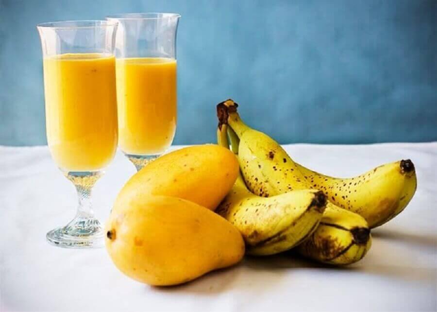 香蕉芒果汁