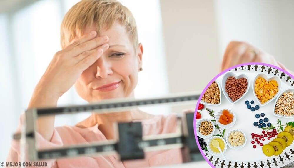 更年期期間的理想減肥餐