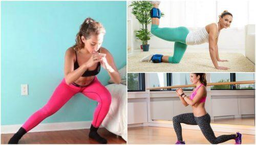 5種在家練臀肌的簡單運動