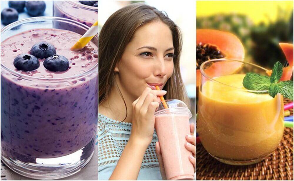 每天早餐的5種健康果昔