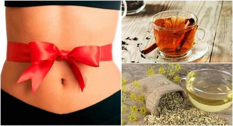假期大吃大喝之後,減輕腹脹的5種療法