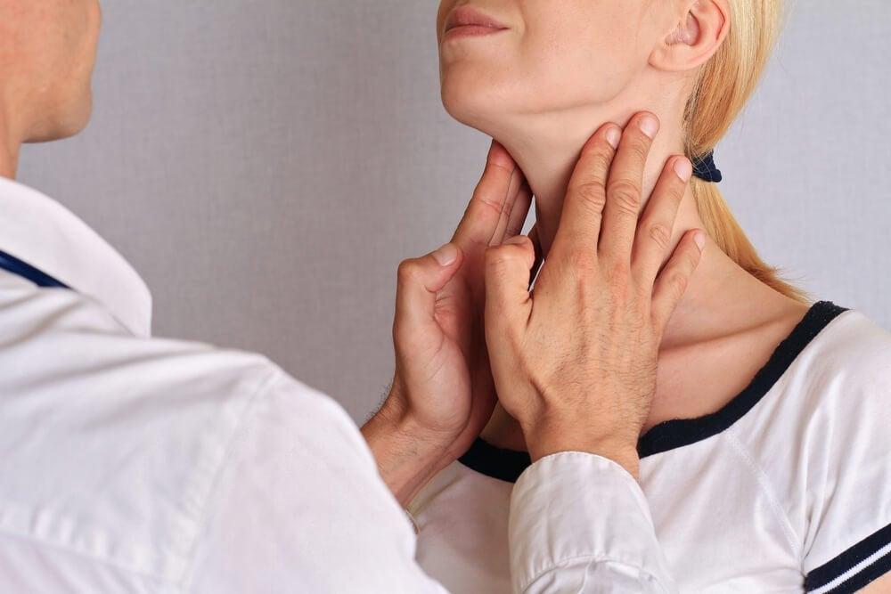 甲狀腺按摩