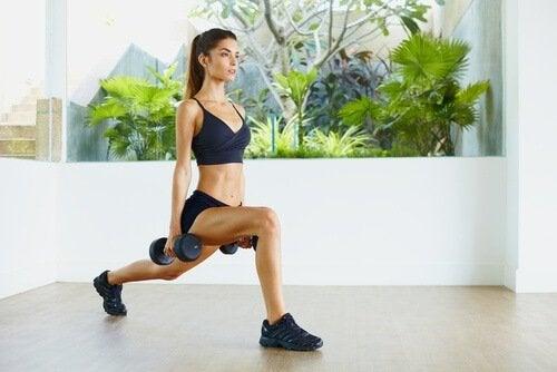 女性重量訓練
