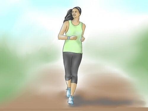每天散步可以保持身材