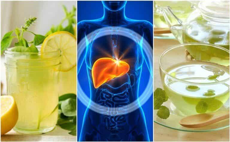 5種睡覺時清潔肝臟的飲品