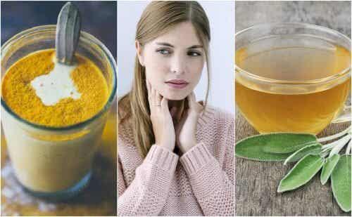 6種治療喉嚨痛的天然成分