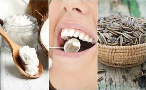 6種減少牙菌斑的自然療法