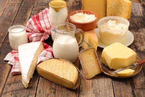 避免鹽和乳製品
