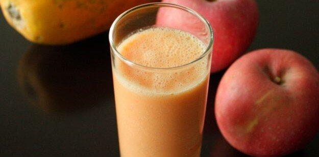 蘋果木瓜排毒飲品