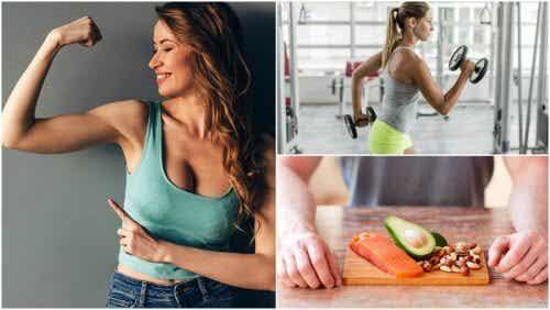 想自然增加肌肉量,你應該採取的五個習慣