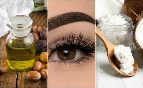 六種讓睫毛更美麗的植物油