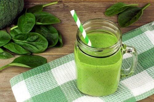 綠色蔬果昔