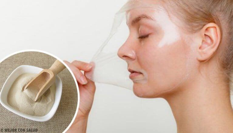 4種恢復肌膚活力的撕式明膠面膜