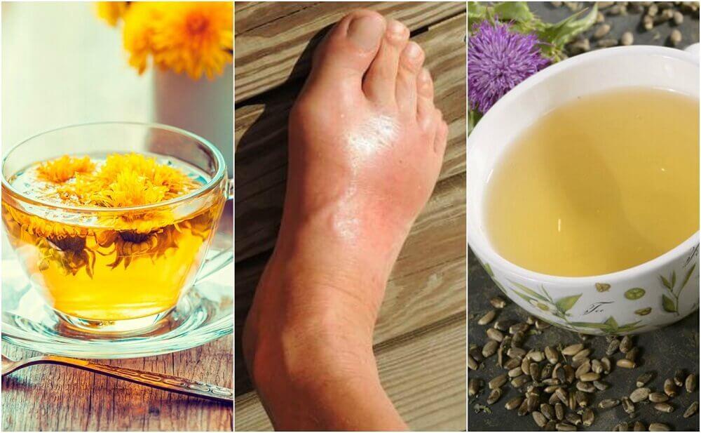 5種降低尿酸的最佳茶飲