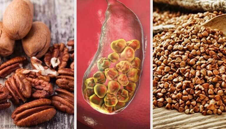 對抗膽結石的6種食物