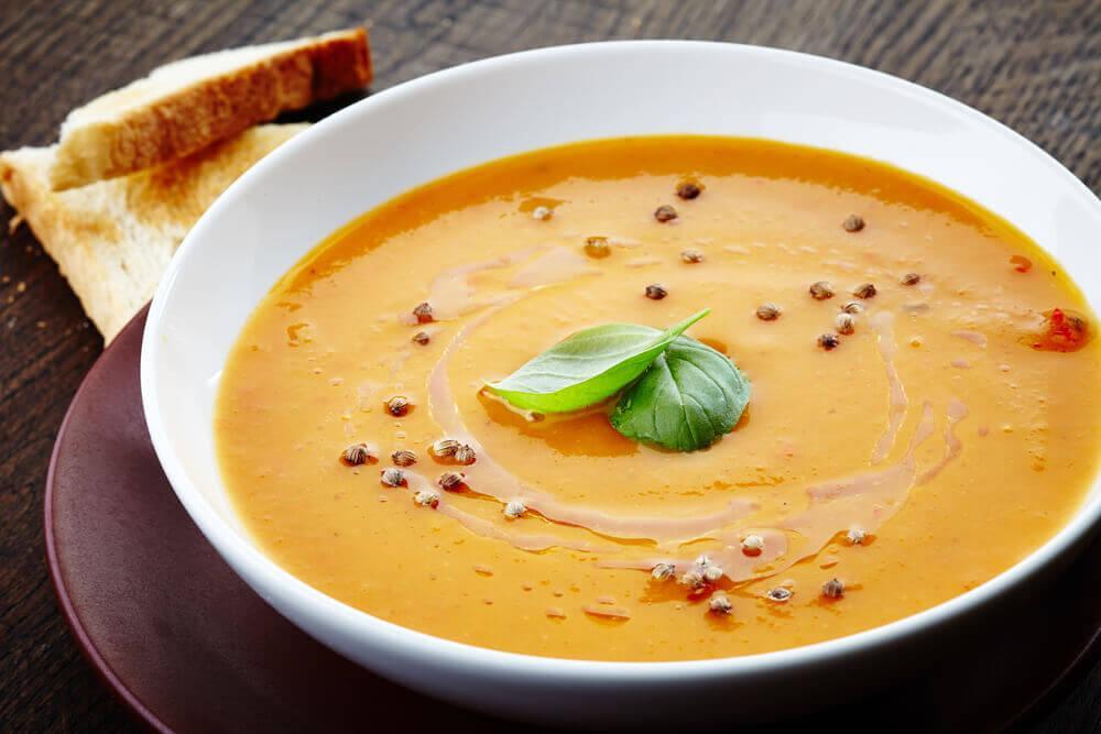 蔬菜青豆奶油湯