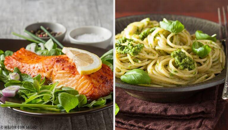 快速晚餐的健康3主意