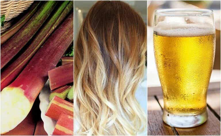 五種自然淡化髮色的方法