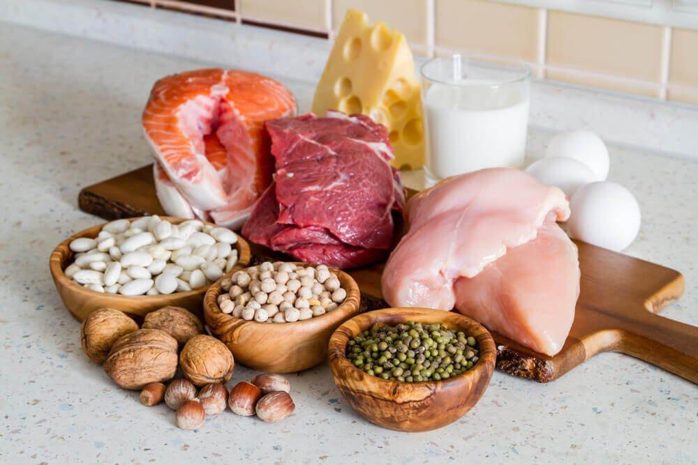 不同類性的蛋白質