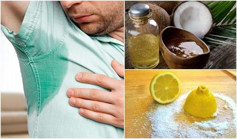 5種治療過度出汗的自然療法