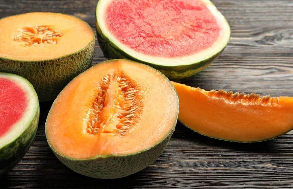哈密瓜和西瓜