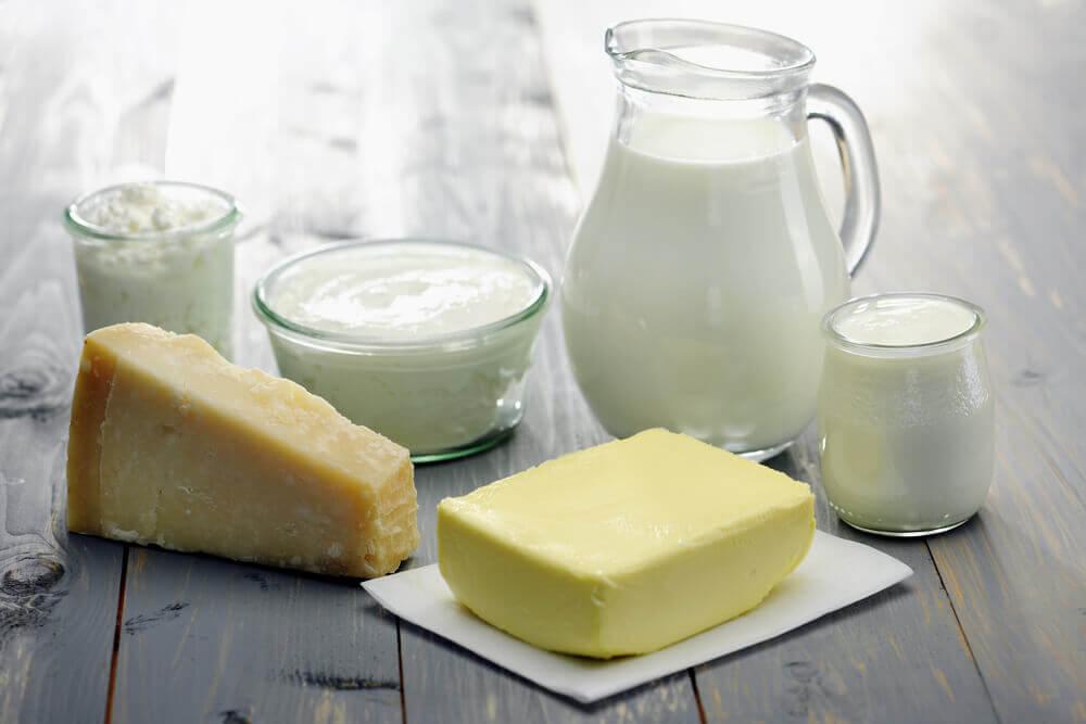 牛奶和乳製品
